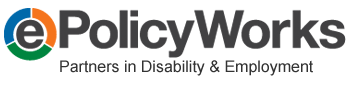 Partners in Disability & employment ePolicyWorks logo