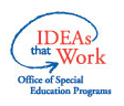 IDEAs that Work office of special Education Programs Logo