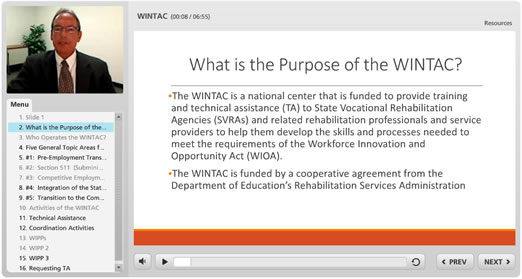 WINTAC Project Introduction video